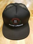 Vintage Advertising Snapback Foam Trucker Hat Auto Tire And Parts 86 Years 1909