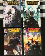 Justice League Of America Mattina Variant Covers Issues 26 27 28 29