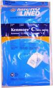 20 Sears Kenmore Type C/q Micron Filtration Vacuum Cleaner Bags 5055 50557 50558