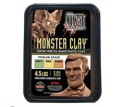 Monster Clay Premium Grade Modeling Clay - Hard - 4.5lb Tub - New Size
