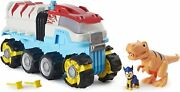 Paw Patrol Dino Rescue Patroller Motorized Team Vehicle Chase Trex Figures Nets