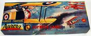 Vintage Aurora Famous Fighters Sopwith Camel Toy Airplane Model Kit