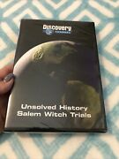 Unsolved History Dvd. Salem Witch Trials. Discovery Channel. •new• Rare Oop