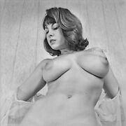 A426 15x15 Busty 1960s Pinup June Palmer 1 Big Beautiful Breasts Nudes