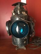 The Adlake Non Sweating Lamp Chicago Vintage 4 Way Railroad Light 16andrdquo