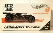 New And Sealed Hot Wheels Id Justice League Batmobile Series 1 Limited Toy Gift