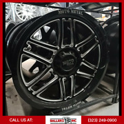20x9 Moto Metal Offroad Folsom Mo992 6x5.5 139.7 Wheel And 33 Tire Package