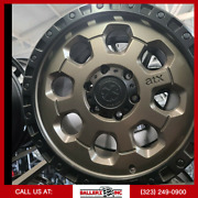 20x9 American Racing Atx 6x139.7 Wheel And 33 Tire Package Black/bronze