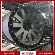 20x9 Hardrock H102 6x139.7[6x5.5] Fuel Offroad Wheel And 33 Tire Package