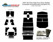 1937 - 1939 Chevrolet 4 Door Sedan Complete Acoustic Insulation Kit
