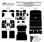 1947 - 1953 Chevy Panel Delivery Complete Acoustic Insulation Kit