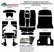 1953 - 1954 Chevrolet Coupe Complete Acoustic Insulation Kit