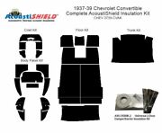 1937 - 1939 Chevrolet Convertible Complete Acoustic Insulation Kit