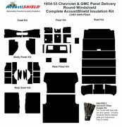 1954 - 1955 Chevy Panel Delivery Complete Acoustic Insulation Kit