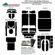 1957 Chevrolet Sedan Delivery Complete Acoustic Insulation Kit
