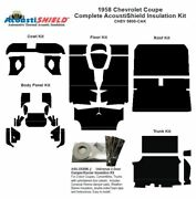 1958 Chevrolet Coupe Complete Acoustic Insulation Kit