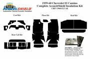 1959 1960 Chevy El Camino Complete Acoustic Insulation Kit