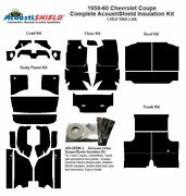 1959 1960 Chevrolet Impala Coupe Complete Acoustic Insulation Kit