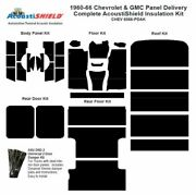 1960 - 1966 Chevy Panel Delivery Complete Acoustic Insulation Kit