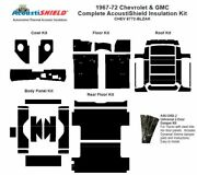 1967 - 1972 Chevy Blazer Complete Acoustic Insulation Kit