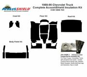 1988 - 1998 Chevy Truck Complete Acoustic Insulation Kit