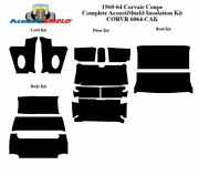 1960 - 1964 Chevy Corvair Coupe Complete Acoustic Insulation Kit