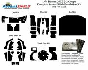 1974 Datsun 2+2 Coupe Complete Acoustic Insulation Kit