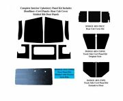 1951 - 1953 Dodge Truck Interior Complete Acoustic Insulation Kit