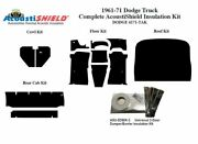 1961 - 1971 Dodge Truck Complete Acoustic Insulation Kit