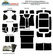 1935 - 1939 Ford Sedan Delivery Complete Acoustic Insulation Kit