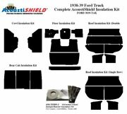 1938 1939 Ford Truck Complete Acoustic Insulation Kit