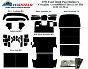 1956 Ford Truck Panel Delivery Complete Acoustic Insulation Kit