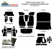 1955 1956 Ford Coupe Complete Acoustic Insulation Kit