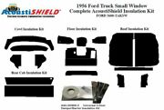 1956 Ford Small Window Truck Complete Acoustic Insulation Kit