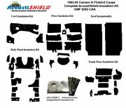 1982 - 1992 Camaro And Firebird Coupe Complete Acoustic Insulation Kit