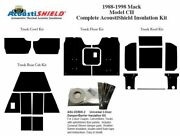 1988 - 1998 Mack Ch Series Truck Complete Acoustic Insulation Kit
