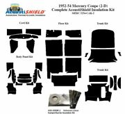 1952 - 1954 Mercury Coupe Complete Acoustic Insulation Kit