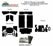 1949 - 1951 Mercury Convertible Complete Acoustic Insulation Kit