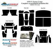 1970 1971 Torino Coupe Complete Acoustic Insulation Kit