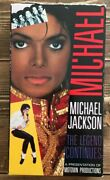 Michael Jackson - The Legend Continues Vhs, 1989 ++ Free Dvd