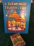 Magic Children Routine Set Coloring Book And Vanishing Crayons Trick Comedy Kids