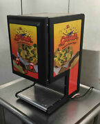Gold Medal Dual Hot Chili Nacho Cheese Dispenser Double 5301 Warmer