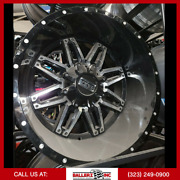 20x12 8x170 Twisted Offroad Billet - Wheel And 33 Tire Package Gloss Black/milled