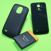 6300mah Extended Battery Hard Cover Case For Samsung Galaxy S4 Mini Sch-i435l