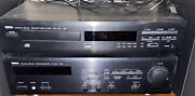 Vintage Yamaha Rx-360 Natural Sound Stereo Receiver And Compact Disc Cdx-530