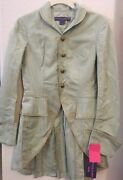 Womens Vintage 100 Silk Equestrian Riding Coat Tailcoat