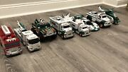 Used Hess Toy Truck Collection - 8 Years - 2005-2012