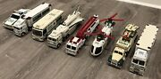 Used Hess Toy Truck Collection - 8 Years - 1993 1997-2003