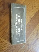 Vintage Henry Sears And Son 1865 Cushioned Strop Hone Razor Shaving