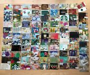 You Choose One Of 96 Different Starbucks Gift Card Lot 5 2007-2018 Usa Canada